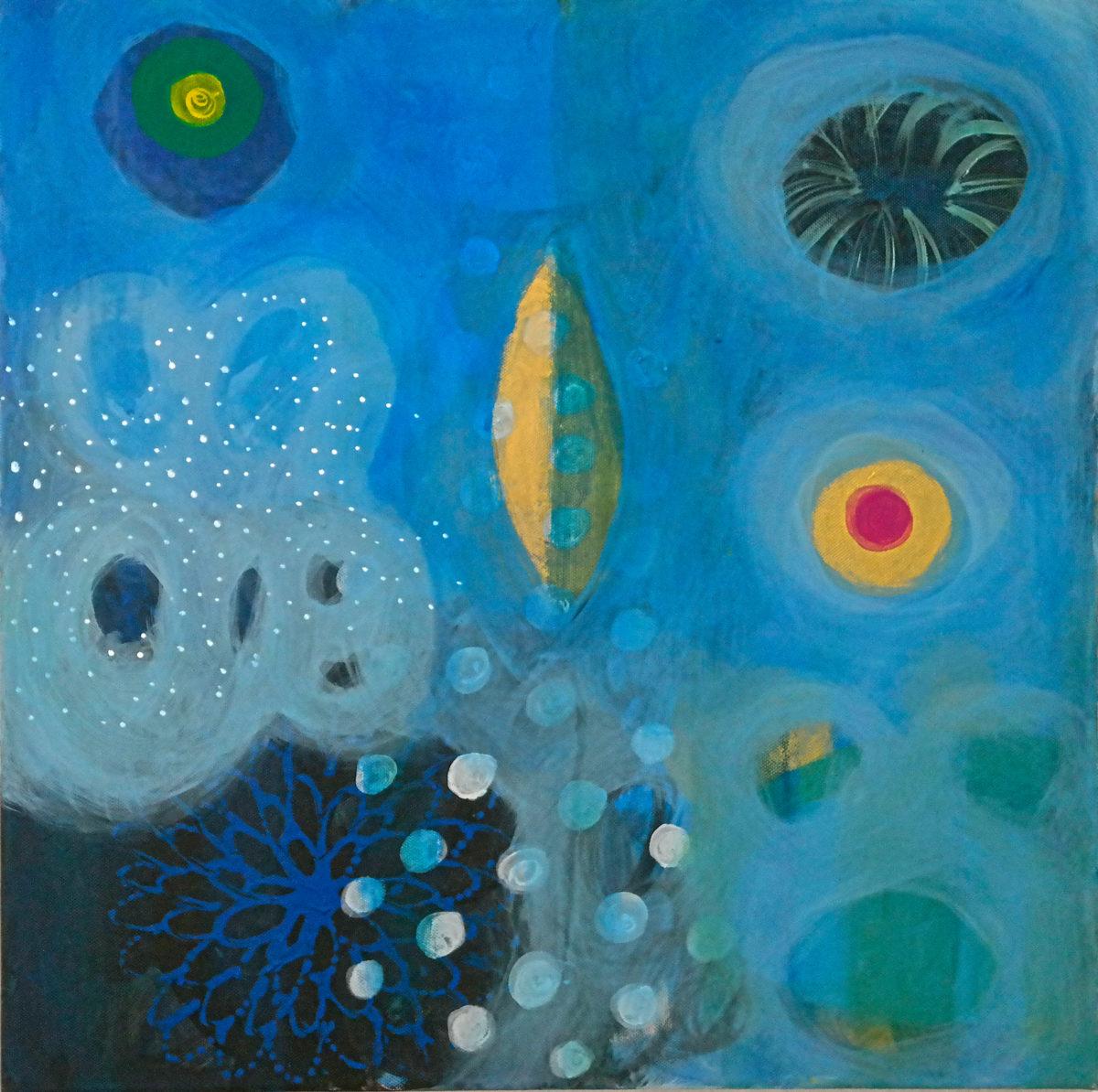 MVS, Spirit of Water 1 painting