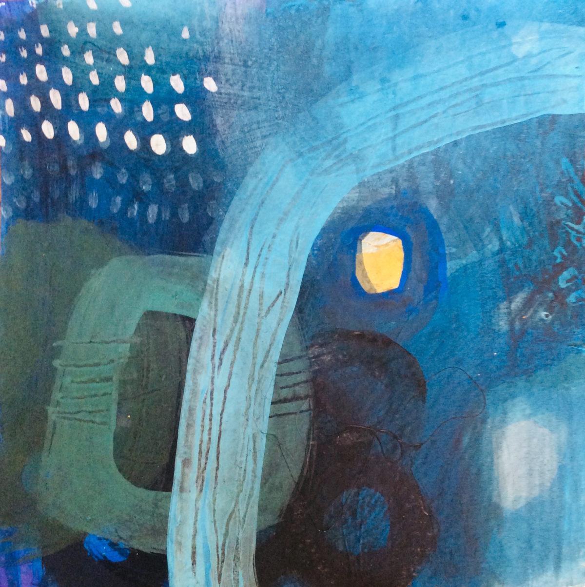 MVS Indigo Ocean 5 painting