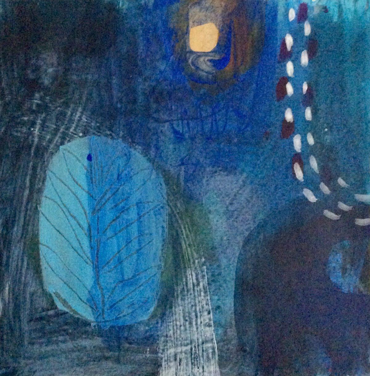 MVS Indigo Ocean 4 painting