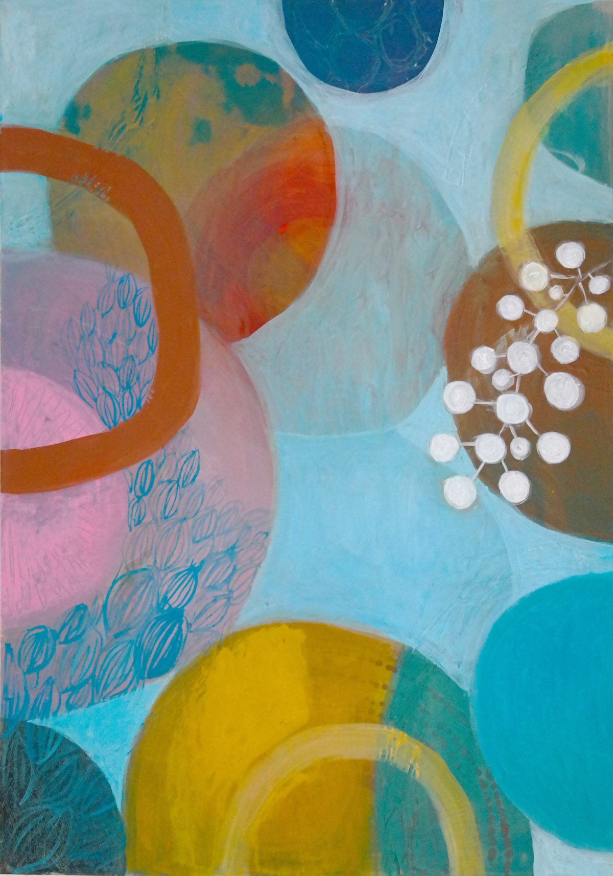 MVS, Circles in Space  painting