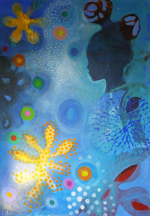 MVS, Queen of Water painting
