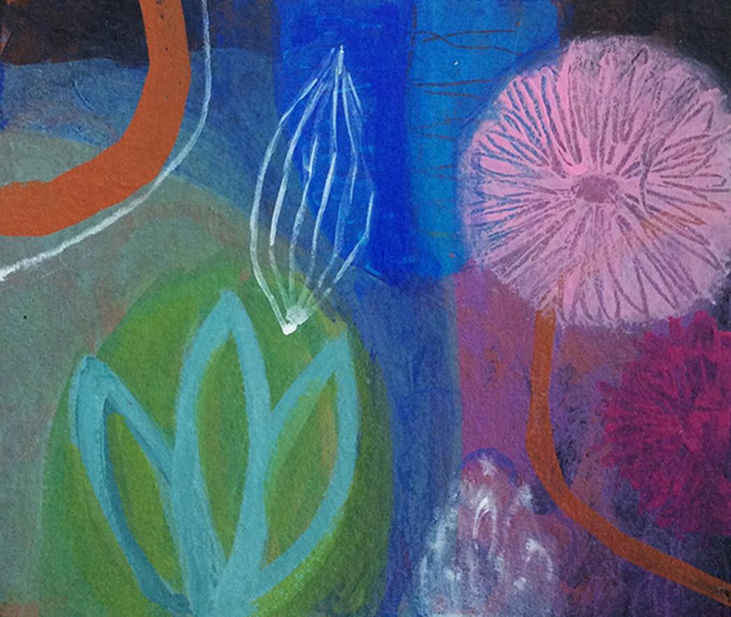 MVS Botanicals small 3 painting,