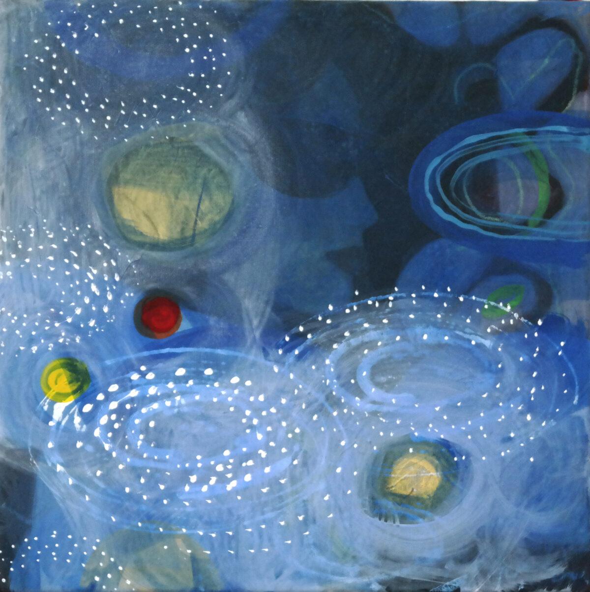 MVS, Blaue Stunde 2 painting