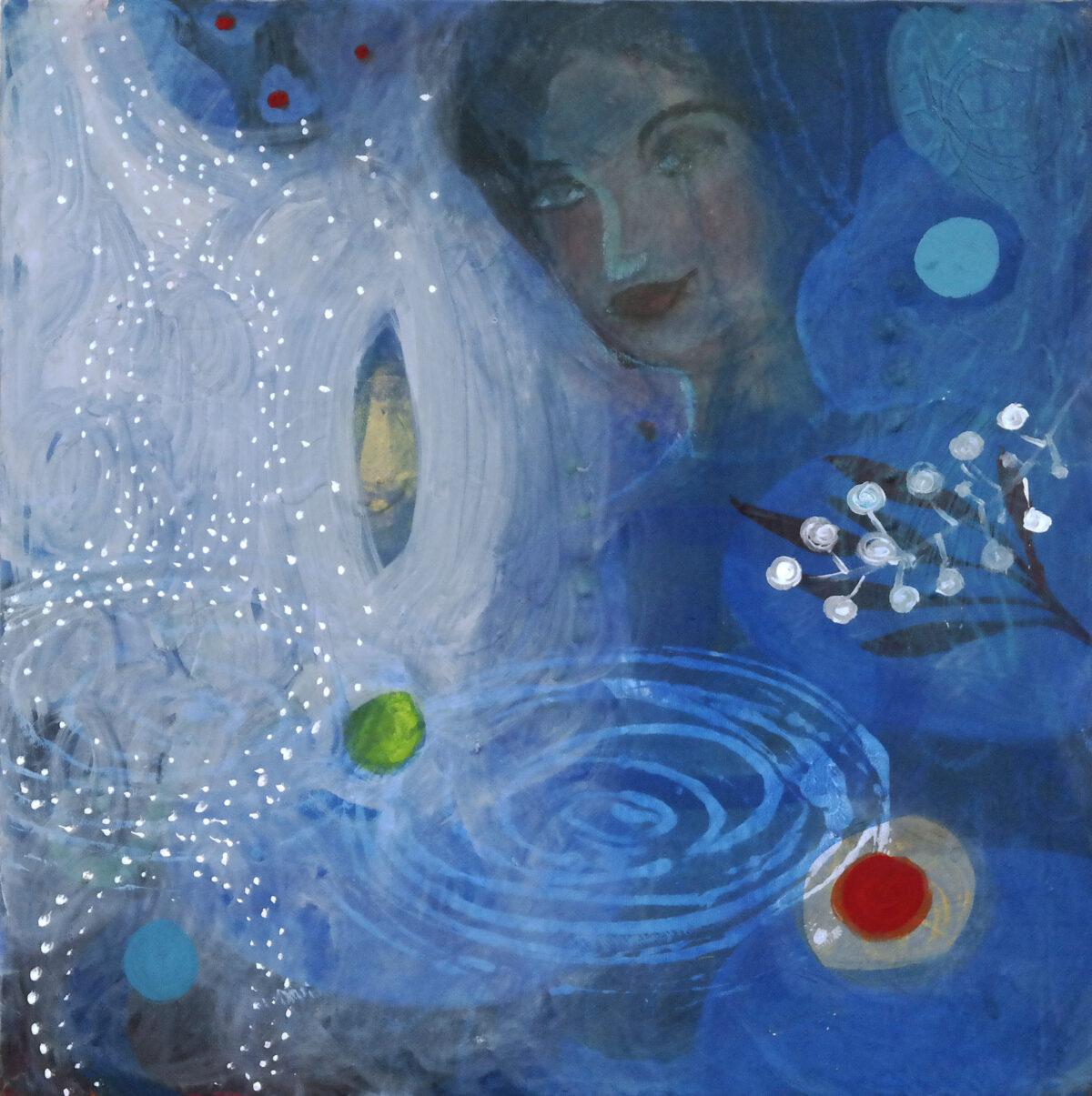 MVS, Blaue Stunde 1 painting
