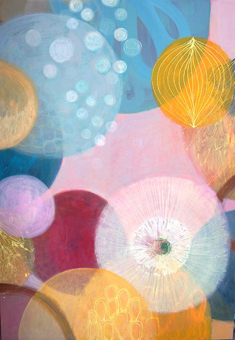 MVS,Flowing Circles Painting